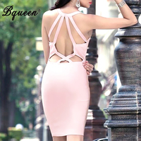 HEGO 2015 New Criss Cross Backless Sexy Bandage Club Dress Fashion Cocktail Dress H1272