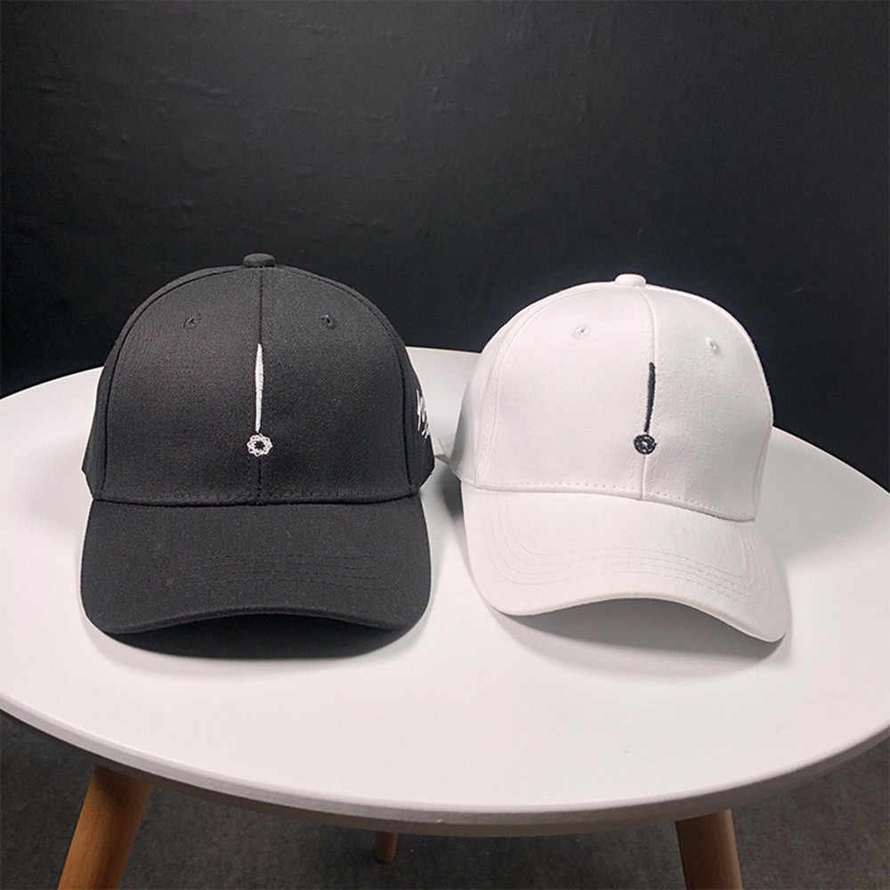 Unisex new solid color baseball cap 2019 men and women sun protection top hat riding cap classic sports outdoor baseball cap