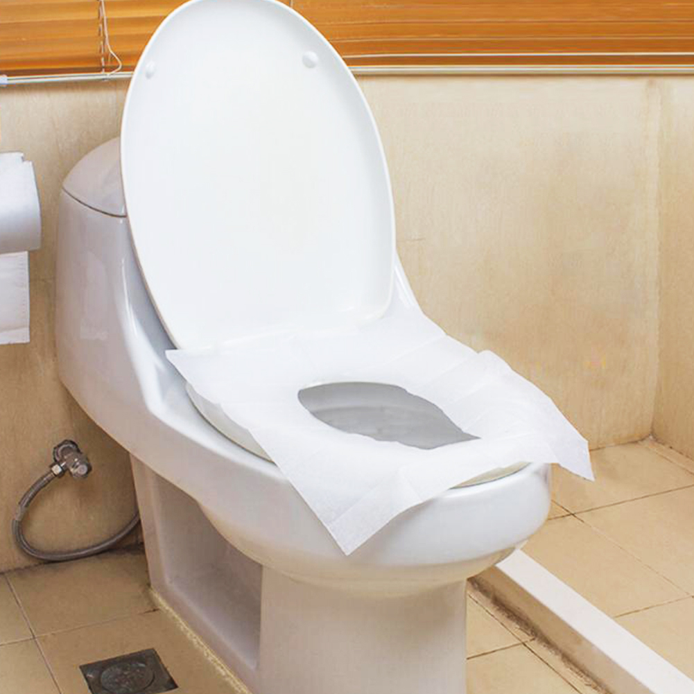 Amazing Us 0 77 14 Off 1 Bag 10 Pcs Lot Travel Disposable Toilet Seat Cover Mat 100 Waterproof Toilet Paper Pad Bathroom Accessories Set In Toilet Seat Andrewgaddart Wooden Chair Designs For Living Room Andrewgaddartcom