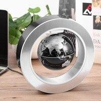 Geography World Globe Magnetic Floating globe LED Levitating Rotating Tellurion World map school office supply Home decor