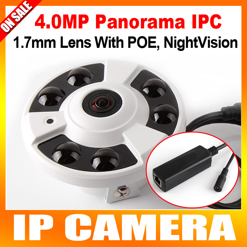 ФОТО Panorama IR IP Camera POE 4MP 2592*1520 With 360 Degrees Full View Fisheye Camera Support Onvif And P2P Cloud View,Indoor Use