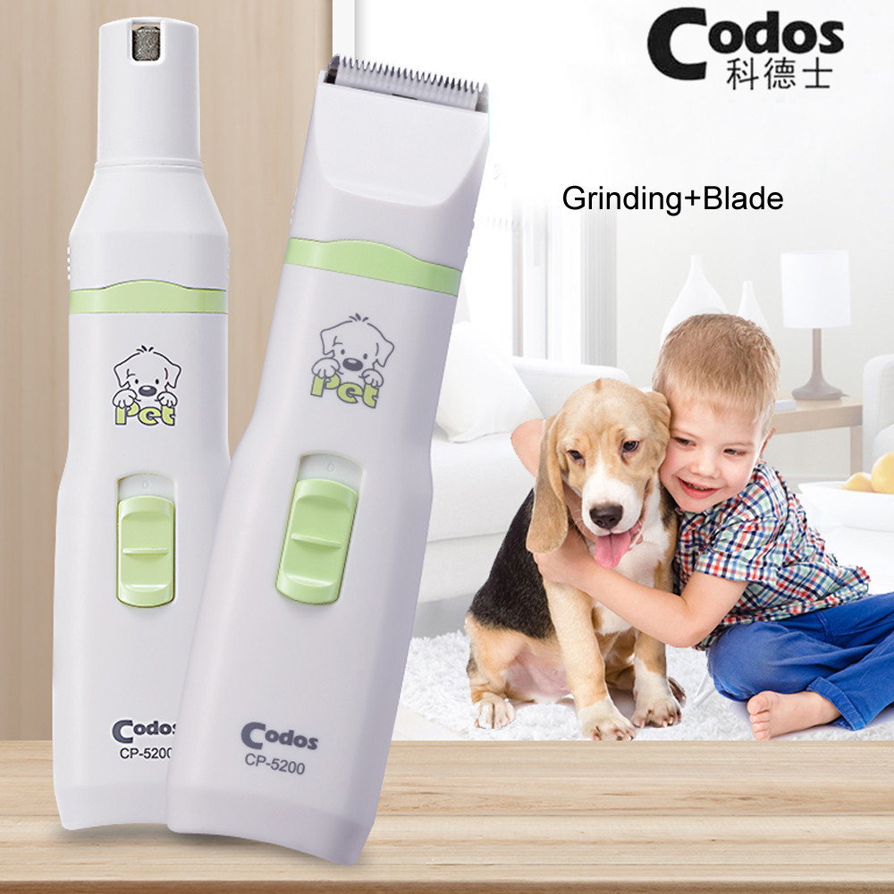 2019 New 2 in 1 Pet Dog Cat Hair Trimmer Paw Nail Grinder Grooming Clippers Nail Cutter Hair Cutting Machine Codos CP-52002019 New 2 in 1 Pet Dog Cat Hair Trimmer Paw Nail Grinder Grooming Clippers Nail Cutter Hair Cutting Machine Codos CP-5200