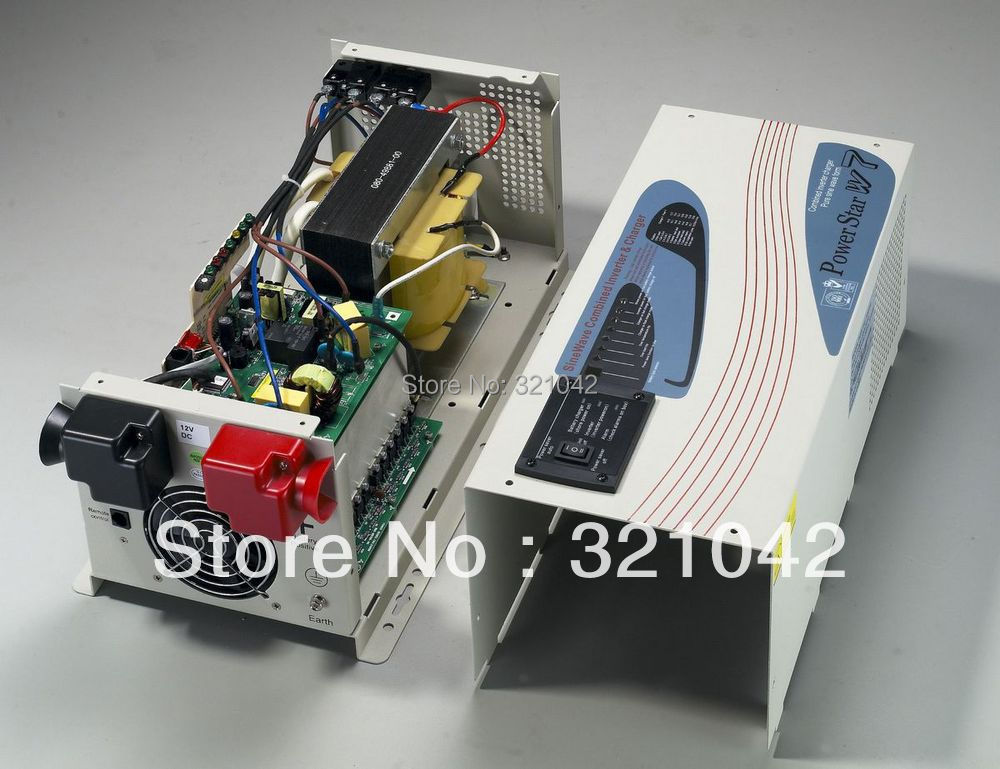 peak power 4500W rated power 1500W pure sine wave inverter with avr dc12v/24v to ac220v LCD display
