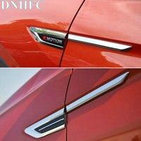 DNHFC Car Accessories Car Styling Car Side Decoration Sticker For Volkswagen VW Tiguan 2017 2018 MK2
