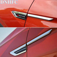DNHFC Car Accessories Car Styling Car Side Decoration Sticker For Volkswagen VW Tiguan 2017 2018 MK2