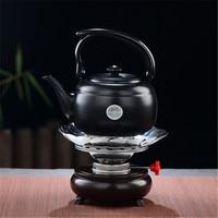 XMT HOME stainless steel alcohol burner teapot warmer set tea warmer for gongfu tea 1pc