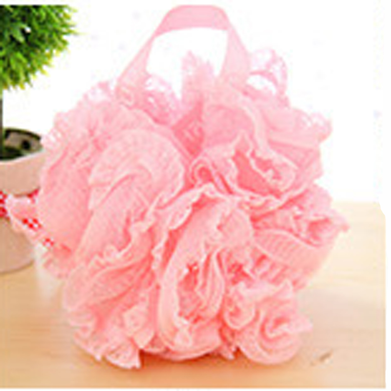 Flower Bath Ball Bath Tubs Cool Ball Bath Towel Scrubber Body ...