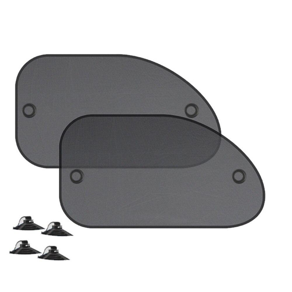 Cover-Block Visor-Shield Screen Sunshade Window-Side Car-Styling-Window 2pcs Rear -Yl5