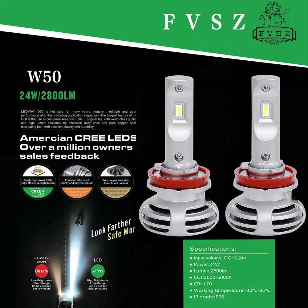 2Pcs mini H11 Auto Headlight H7 LED H4 H16 H13 H1 H3 H27 H8 9006 9005 72W 8000LM 6500K 12V 24V Car Headlamp COB Fog Light Bulb-in Car Headlight Bulbs(LED) from Automobiles & Motorcycles