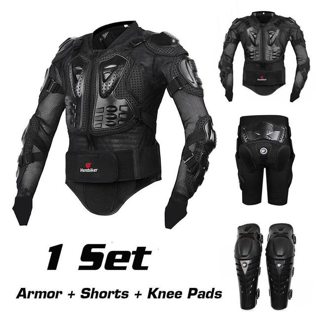 Motorcycle Safety Gear >> Motorcycle Riding Armor Protective Gear Motocross Off Road Back