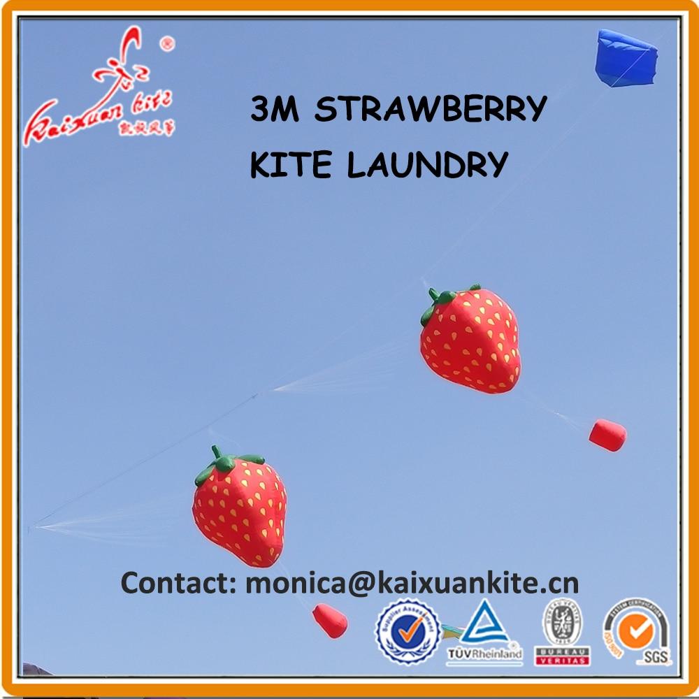 3m truskawka linia pralnia, nadmuchiwany latawiec pokazowy z Weifang fabryki latawca kaixuan w Latawce i akcesoria od Zabawki i hobby na  Grupa 2