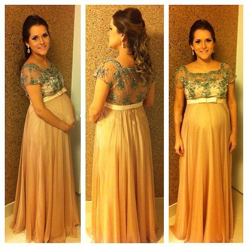 Robe de soiree pour femme enceinte 2015