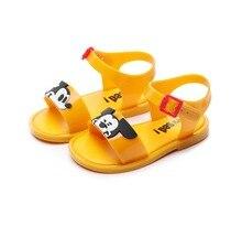 Mini Melissa Shoes New 2016  Hot Sale Girls Children Sandals Chaussure Enfant Kids Shoe Furadinha