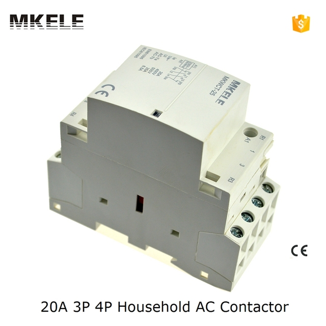 MKWCT 20 high quality 3NO 20A 3P 24V 48V 110V 220V 240V 400V ...