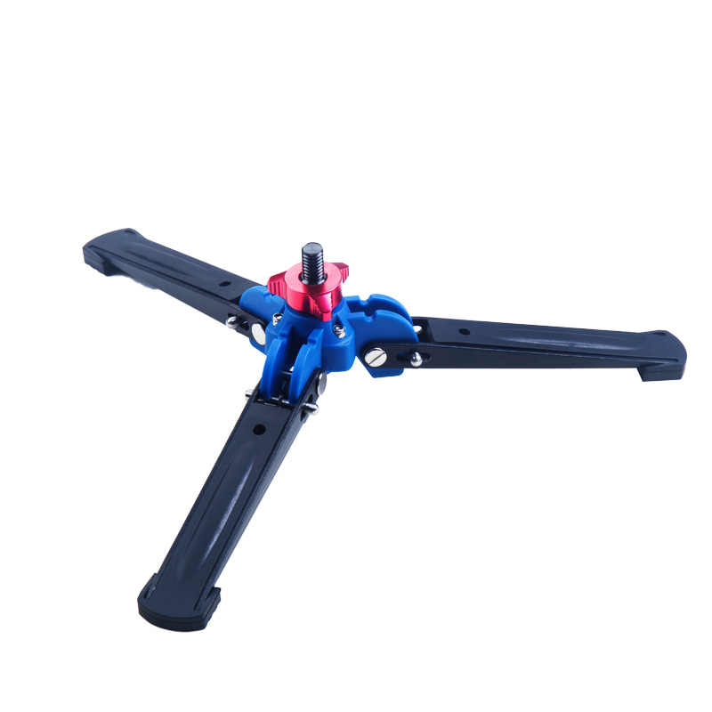 Manbily A-555 Portable Aluminium DSLR Unipod Monopod Tongkat Flip Lock W Tripod Berdiri Statief untuk Canon Nikon Sony Smartpho