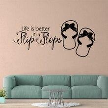 Cartoon life quotes Wall Sticker Home Decor Decoration For Kids Room Living Art Wallpaper