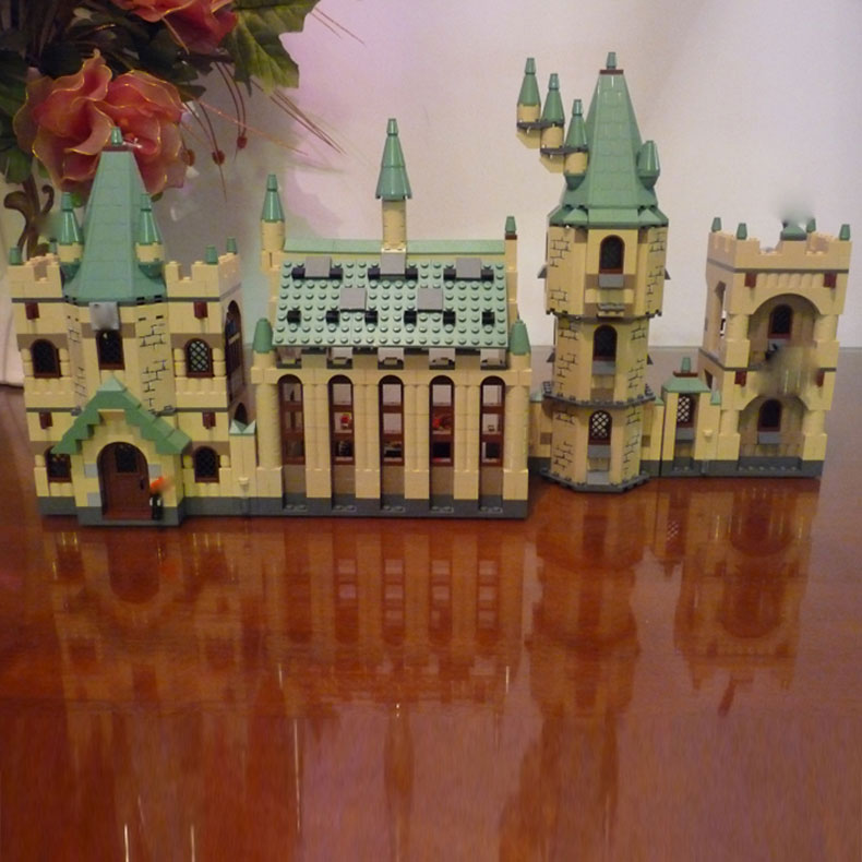 New Lepin 16030 The Hogwarts Castle 1340pcs Creative Movies Building Block Bricks Compatible 4842 Educational Toy for children lepin 16030 1340pcs movie series hogwarts city model building blocks bricks toys for children pirate caribbean gift