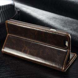 Original Brand Leather Case sFor Fundas Apple iphone SE 5 5G 5S Case iphone 6 6S case 6 6s Plus coque Wallet Flip Phone Cover 4