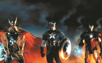Free Ship Custom Poster Cartoon Avengers Thor Poster Home Perfect Gift Well Design Wall Sticker Canvas