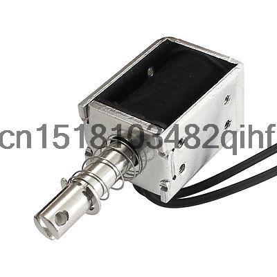 AC 220V 6 мм 100g проводной открытый каркас тянуть электромагнитный привод actuator actuator