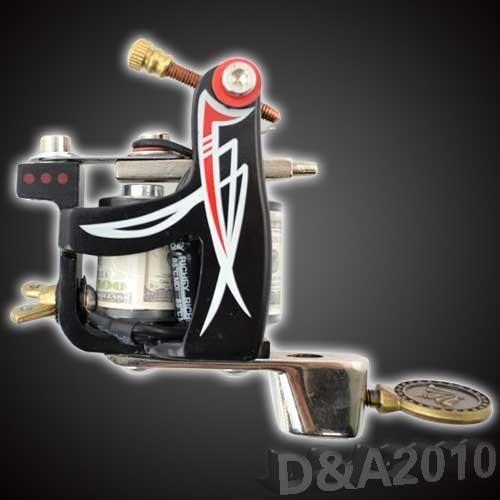 Hight Quality Tattoo Machine 8 Wrap Coils  Rotary Motor Gun For Body Art Spring Linner Secant Custom Core Cast Iron Good Design