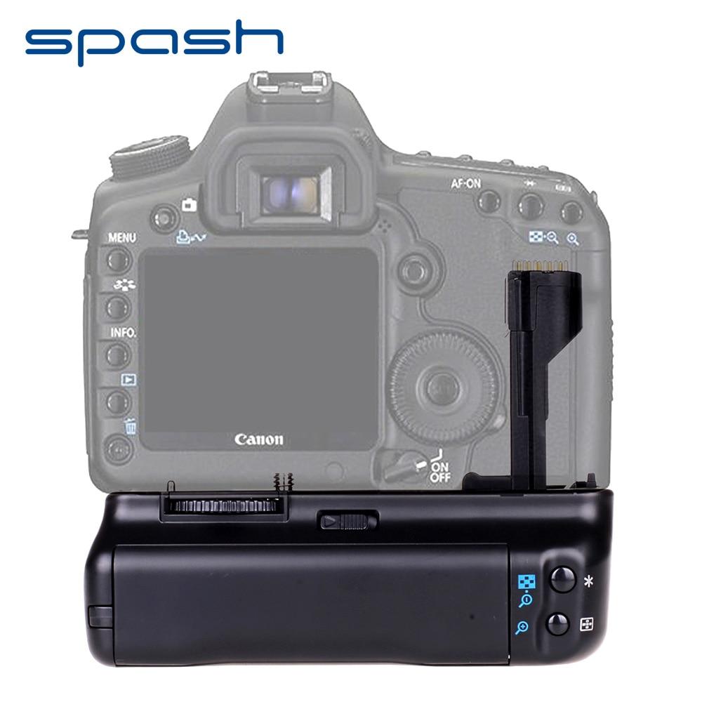 spash Multi-power Vertical Battery Grip for Canon EOS 50D 40D 30D 20D DSLR Camera Replace BG-E2N dste 10pcs bp 511 bp511a battery for canon 20d 30d 40d 50d mv 30i 300 300i zr20 25mc camera rechargeale 7 4v 2300mah