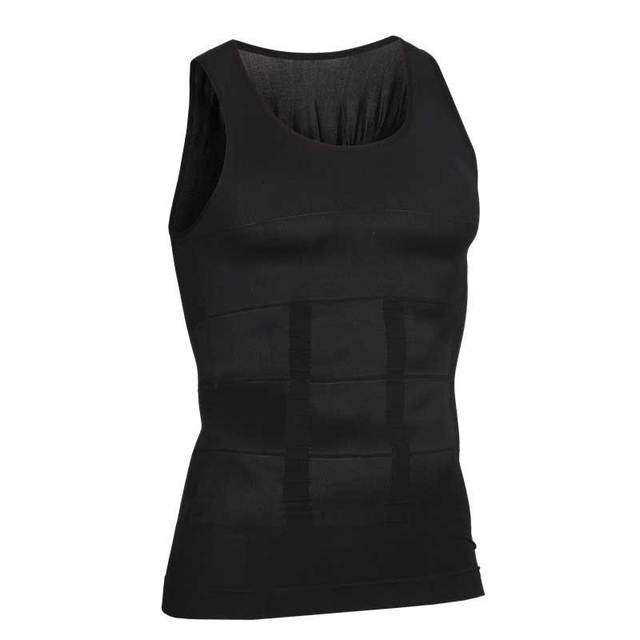 Men Shapers Ultra Sweat Thermal Muscle Shirt Neoprene Belly Slim Sheath Female Corset Abdomen Belt Shapewear Zip Tops Vest NY084 3