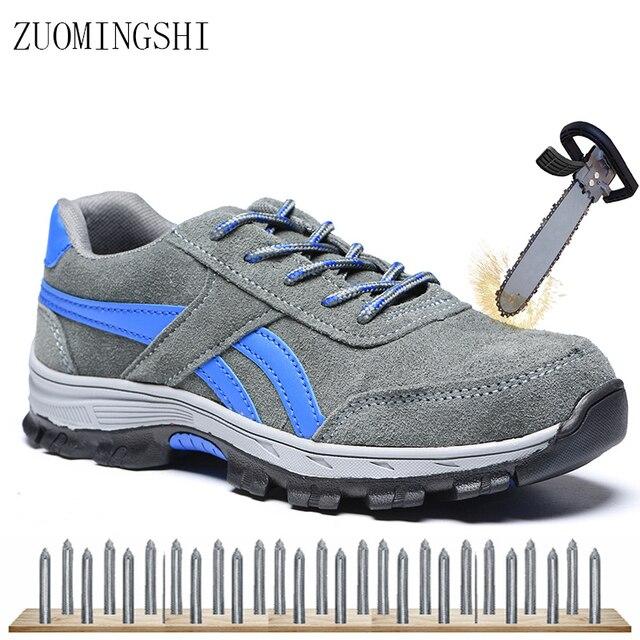Trabajo Cuero Costo Zapatos Hombre Bajo Para Seguridad De 6Y7vyfbg
