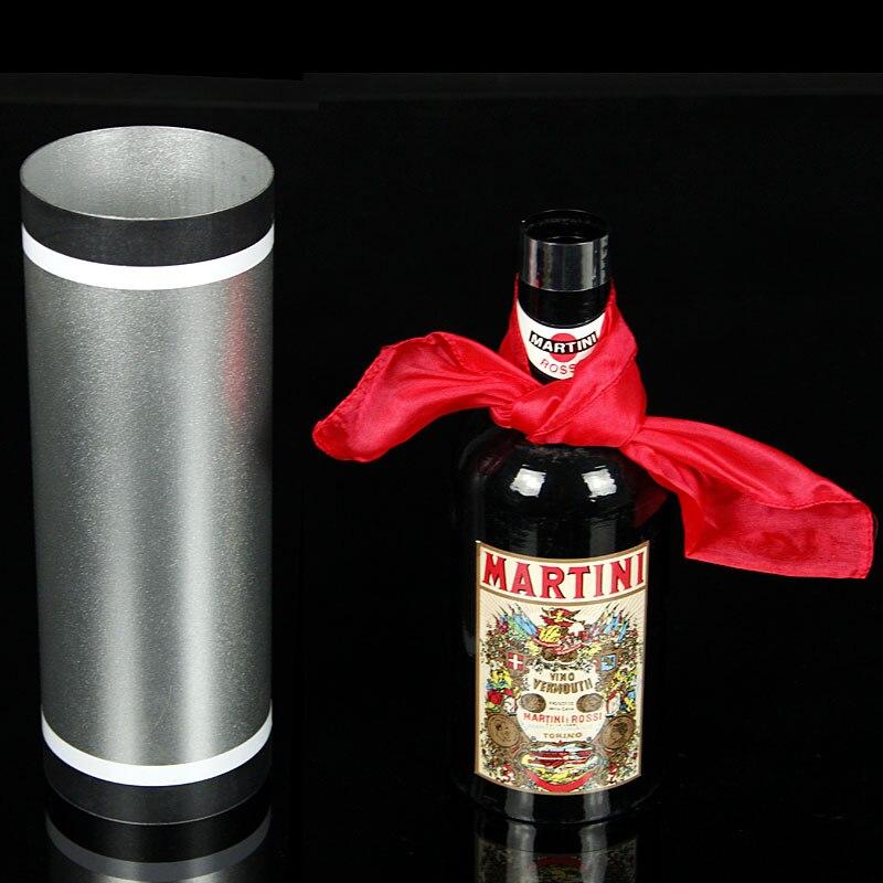 Canne soie et bouteille tours de magie incroyable scène magique soie disparaître bouteille apparaissent de Tube vide Magia mentalisme accessoires de Gimmick - 2