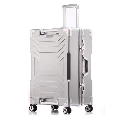 20,24、28インチトランスフォーマー荷物抗スクラッチアルミフレームのトロリーボックスユニバーサルホイールビジネススーツケース  グループ上の スーツケース & バッグ からの ハードスーツケース の中 1