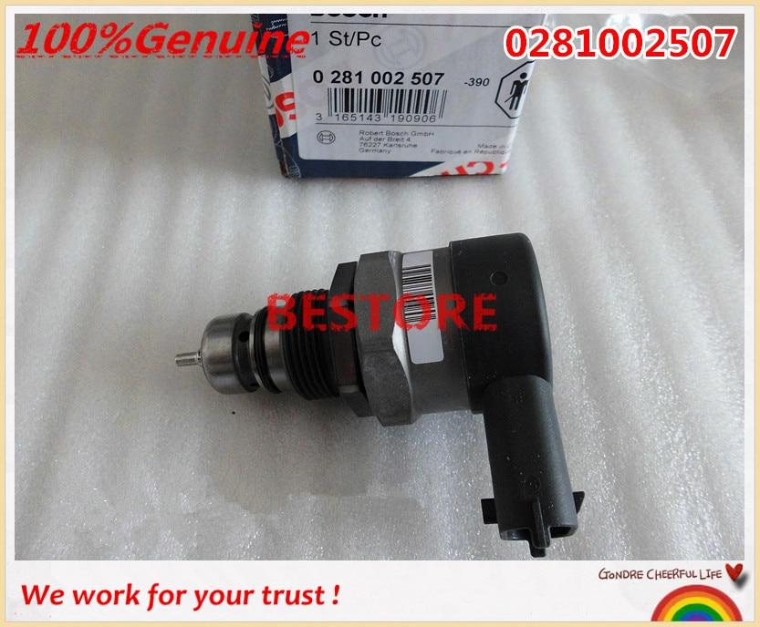 Origianl / Genuine and new  pressure control valve DRV 0281002507 /0281002625 for 55185570 31402-2A400 13mm male thread pressure relief valve for air compressor