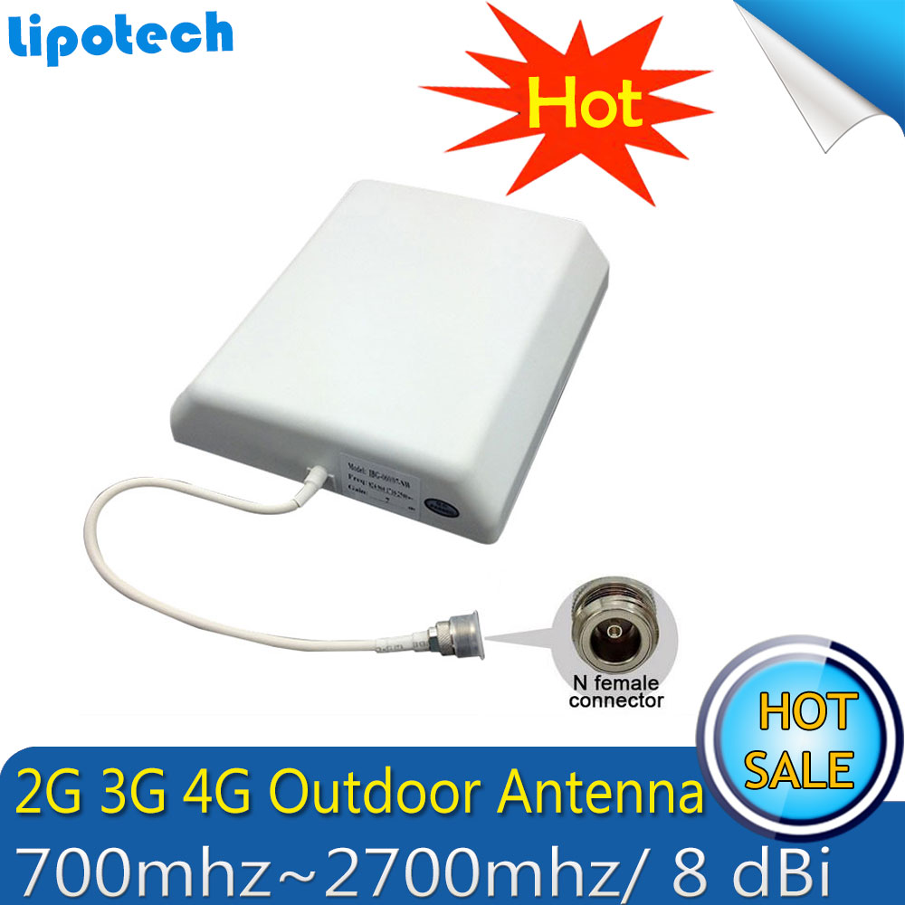 Lintratek 2600 Mhz 4G (bande FDD 7) répéteur de Signal de téléphone portable 65dB LTE 4G amplificateur de Signal Mobile cellulaire antenne 4G - 3