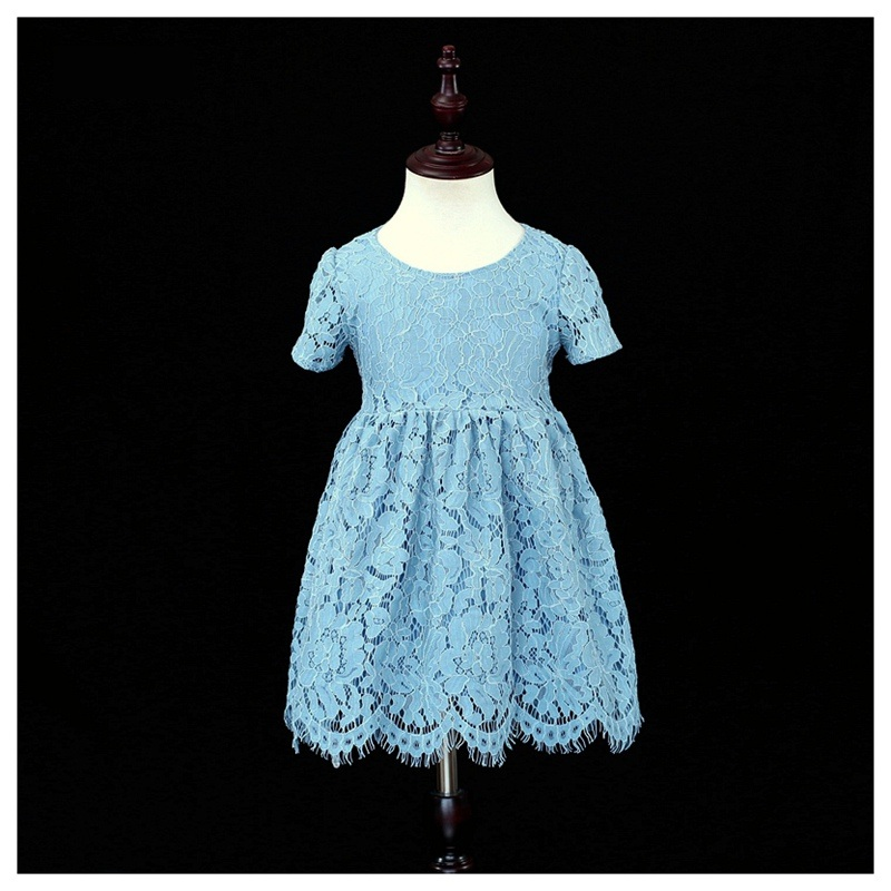 Brand Children clothing family matching outfits infant girls blue lace dress mother and daughter matching dresses mom baby dress прихожая роза 4