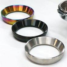 Anillo dosificador de acero inoxidable, accesorios para máquina de café Espresso profesional, anillo dosificador, 51mm, 53mm, 58mm