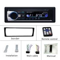 Универсальный дизайн автомобиля радио ЖК-дисплей автомобиля стерео аудио в тире FM Aux вход приемник USB MP3 радио плеер