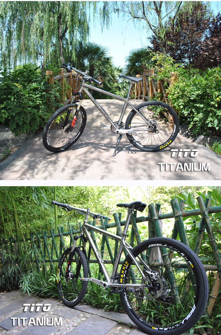 HTB1sLw7OVXXXXa2XpXXq6xXFXXXd - TiTo titanium alloy MTB bike XT silver fits 20 Pace or 30 Pace 26 27.5 wheelgroups  titanium bicycle