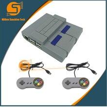 Raspberry Pi 3B/3B+   raspberry Pi Box enclosure protection chassis with 2 pcs arcade USB game handle free shipping стоимость