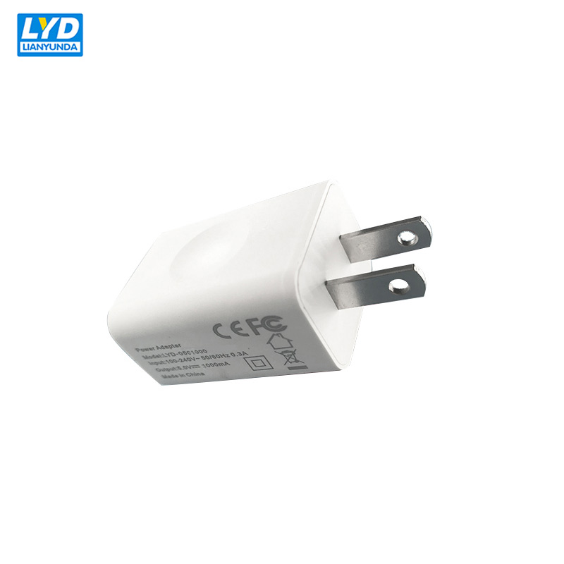 US Plug 5V-1A 2A USB Charge AC-DC Power Chargrer For Electrical Equipment Switching Charger