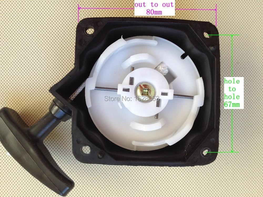 Recoil starter steel wire type for CG430/CG520/BG430/BG520 Grass trimmer parts, Brush cutter  starter parts 40-5/44-5 смарт часы hiper babyguard pink bg 01pnk 430 мач розовый bg 01pnk