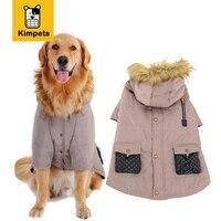 KIMHOME PET Mode Hund Kleidung Hund Haustier Warme Baumwolle Jacke Mantel Zwei Füße Hoodie Kleidung Puppy Winterkleidung Pet Kostüm