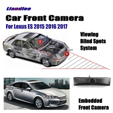 Liandlee For Lexus ES 2015 2016 2017 Car LCD Screen Monitor 4.3 / Front View Camera Logo Embedded / Cigarette Lighter Switch