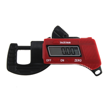 Cheaper ANENG Digital Thickness Gauge 0.01mm Mini Dial Thickness Gauges Meter Carbon Fiber Composite Meter Width Measurement Tools