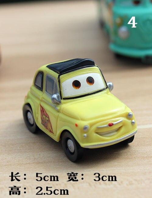Cars Toy Car Model Ornaments Anime Die Sally Raymond Child Car Size