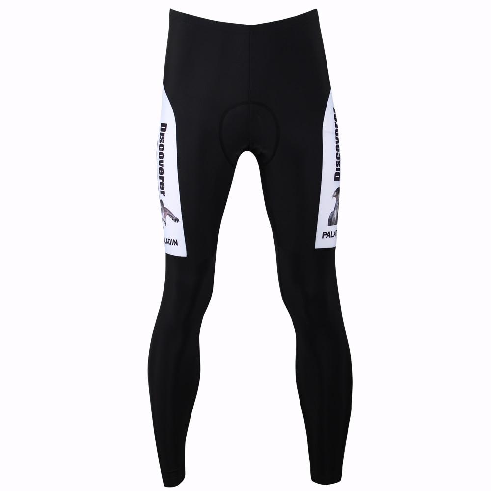 Nové Doprava zdarma Discovery Eagle Men Cyklistické kalhoty Prodyšné Vysoce kvalitní Černobílé Cyklistické kalhoty Kalhoty Velikost S-XXXL