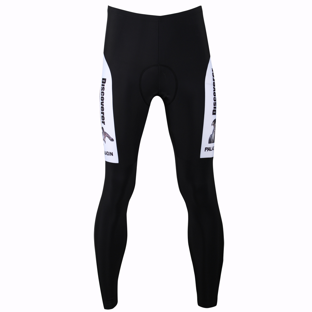 New Free shipping Discovery Eagle Men Cycling Pants Breathable High Quality Black / White Cycling Tights Pants Size S-XXXL