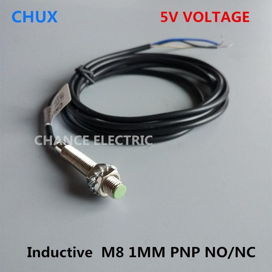 inductive proximity sensors 5vdc pnp m8 1mm detenct distance no nc 3 rh sites google com