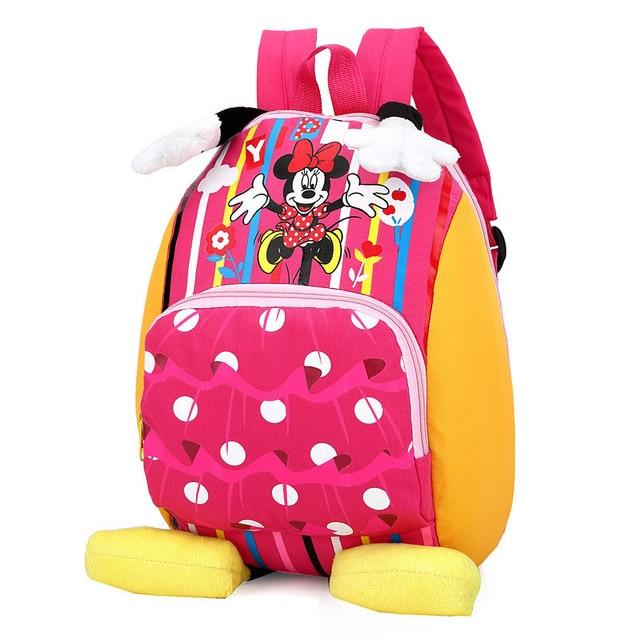 2018 Children school bags backpacks kindergarten girls boys kids ...