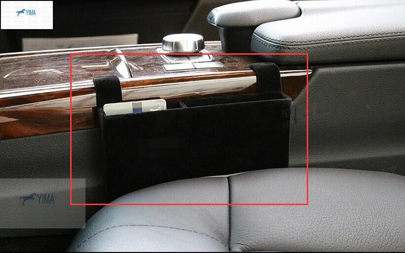 Pour Mercedes Benz Classe E E-Classe E200L E260L E300L Accessoires Avant Centrale Moyen Boîte De Rangement Couvercle Décoratif Garniture 1 pcs