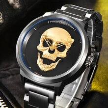 PAGANI DESIGN Herrenuhr mode Luxusmarke Uhr Männlichen Casual Sport Armbanduhr Männer Pirate Schädel Stil Quarzuhr Reloj Hombe