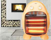 Small solar heater home desktop electric heaters quiet dark energy saving drying hot to keep warm